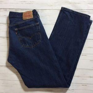 Levi's 501 Button Fly Men's Jeans Size 34 x 34